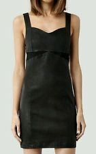All saints turi leather dress size UK 8 us 4 eu 36 new with tags