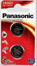 2 pila batteria CR2025 PANASONIC 3V litio CR 2025 alta qualità