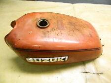 76 Suzuki GT 185 GT185 petrol gas fuel tank