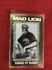 Mad Lion Take It Easy Rare Hip Hop Cassette Tape~ New Sealed Rare