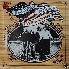 Red, White & Blues Bill Crofut & Chris Brubeck - Live In Concert (CD) VG++ 9/10