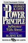 The Power Principle : Influence With Honor (Cassette) Lee, Blaine Audio Cassett