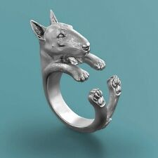 Bull Terrier Dog Wrap Around Ring