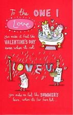 To The One I Love Valentine's Day Greeting Card Naughty Valentines Cards