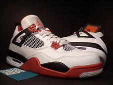 Nike Air Jordan IV 4 Retro WHITE FIRE RED BLACK CEMENT COOL GREY 308497-110 12