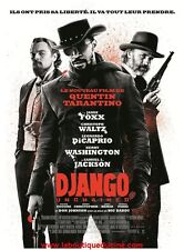 DJANGO UNCHAINED Affiche Cinéma 160 x 120 / Movie Poster TARANTINO DICAPRIO