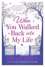 Quand vous êtes entré dans ma vie par hilary boyd livre de poche 2013 nouveau