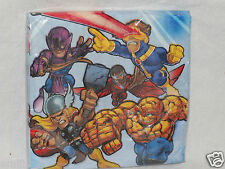 NEW MARVEL SUPER HERO SQUAD LUNCHEON NAPKINS  PARTY SUPPLIES
