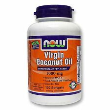 Virgin Coconut Oil, 1000 mg (120 Sgels) - NOW Foods FREE SHIPPING