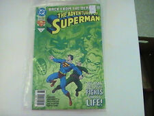 THE ADVENTURES OF SUPERMAN #500 Fine Back from the dead