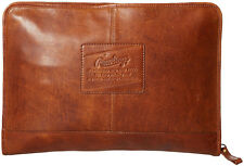 Rawlings Leather Goods Rugged Folio Briefcase - Cognac