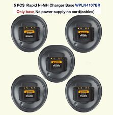 5x Rapid Ni-MH Charger Base For Motorola HT1250  HT1250.LS  HT750 Portable Radio
