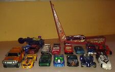 18 Hot Wheels Matchbox Diecast cars Lot