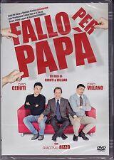 Dvd **FALLO PER PAPÀ** con Giacomo Rizzo nuovo 2012