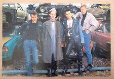 BRAVO POSTER Depeche Mode - Schrottplatz Schrottautos - 80er Jahre !!!
