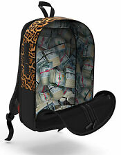SPRAYGROUND [STASHED MONEY LEOPARD] RUCKSACK BACKPACK TASCHE HIP HOP RAP LA  Spr