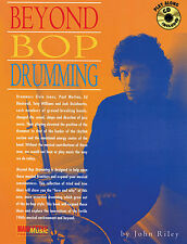 Beyond Bop Drumming Learn to Play Drums Rock Pop Music Book & CD