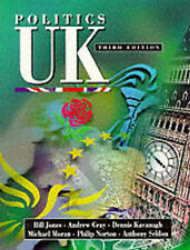 Jones Politics UK Very Good Book