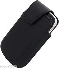 New BlackBerry Bold 9900 9930 OEM Leather Swivel Case Holster HDW-38842-001