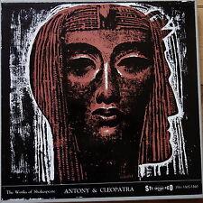 Argo ZRG 5301-10 Shakespeare Antony & Cleopatra 4 LP box set