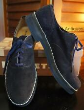 Great Vintage Hewetson Blue Suede Rockabilly Oxford Shoes NIB Mens 7 Womens 8.5