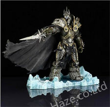 World of Warcraft WoW Arthas Menethil Lich King Deluxe Collector Figure