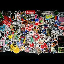 100Pcs Sticker Bomb Car Decal Wrap Vinyl Roll Skateboard Laptop Luggage