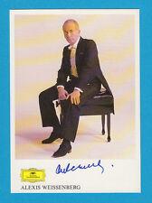 Alexis Weissenberg - Oper / Klassik  Pianist & Komponist - Grammophon - # 13926