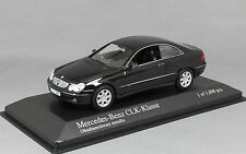 Minichamps Mercedes-Benz CLK Coupe (C209) in Black 400031425 1/43 NEW LtdEd 1008