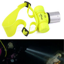 3500Lm T6 LED Waterproof Underwater Headlamp Diving Headlight Flashlight Torch