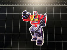 Transformers G1 Blaster box art vinyl decal sticker Autobot toy 1980's 80s