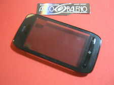 VETRO+ TOUCH SCREEN+ FRAME per NOKIA LUMIA 710 COVER CORNICE +TASTI DISPLAY