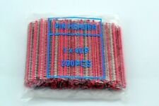 200pcs New Red 1 x 40pin 2.54mm Single Row Breakaway Male Pin Header for Arduino