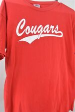 Cougers Red Medium Vintage T SHIRT