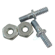 2 Pairs Bar Studs & Nuts For STIHL 017 018 MS170 MS180 Chainsaws Replacement