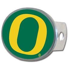 Oregon Ducks Trailer Hitch Receiver Cover Metal Oval Class II & III