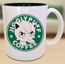 Jigglypuff Pokemon Starbucks Anime Manga Japanese Insipred Cartoon Geek Nerd Mug