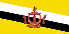 BRUNEI FLAG 3X2 feet 90cm x 60cm FLAGS