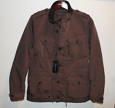 Ralph Lauren BLACK LABEL Mens Brown Designer Jacket Coat Italy NWT $1,295 M