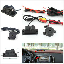 NTSC Format CCD Dual Probe Ultrasonic Radar Car Reverse Parking Camera For Acura