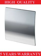 POLISH CHROME SILENT BATHROOM EXTRACTOR FAN WITH TIMER 100mm WALL/CEILING