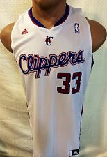 Adidas Swingman NBA Jersey Clippers Grant Hill White sz 2X