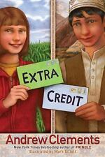 Extra Credit by Andrew Clements c2009, VGC Hardcover, 1st Edition