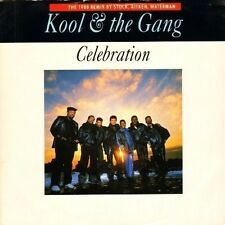"KOOL AND THE GANG celebration stock aitken and waterman remix JAB 78 7"" PS EX/EX"