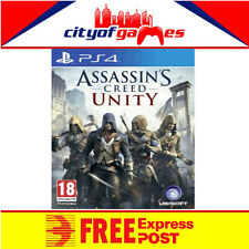 Assassins Creed Unity PS4 Brand New & Sealed Free Express Post