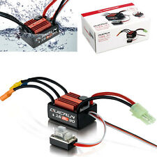 Hobbywing Quicrun Waterproof 16BL30 Brushless ESC Speed Control 30A 1/18 1/16