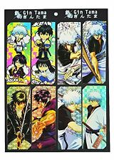 Gintama Anime 8pc Bookmark Set