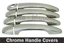 PEUGEOT 207 / SW 407 308 Expert 2007+ Chrome Door Handle Covers Stainless Steel