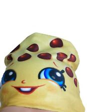 Shopkins Chocoate Chip Kooky Cookie Yellow Hat Costume Accessory 1 Size S M NEW