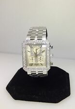 PIAGET PROTOCOLE 18K WHITE GOLD DIAMOND CHRONOGRAPH MEN'S/ LADIES WATCH NEW!!